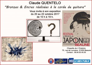 QUENTELO INVITATION EXPO BEAUNE SPECIAL JAPON